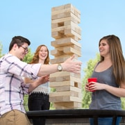 Hey! Play! Jumbo Traditional Tumbling Towers (886511971219)