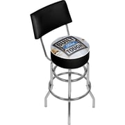 Ford Swivel Bar Stool with Back - Built Ford Tough (886511971714)