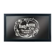 Ford Framed Logo Mirror - Vintage 1903 Ford Motor Co. Black (886511971837)