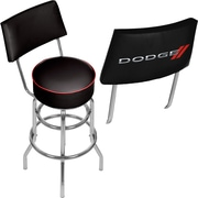Dodge Swivel Bar Stool with Back (886511977631)