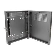 Tripp Lite SmartRack 2U Wall Mount Low-Profile Vertical-Mount Switch-Depth Rack Enclosure Cabinet, Black (SRWF2U)