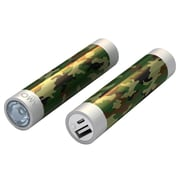 Mota® Tamo Super Lightweight Battery Stick with LED Flashlight, 2200 mAh, Army (STIK22-ARMY1)