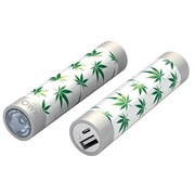Mota® Tamo Super Lightweight Battery Stick with LED Flashlight, 2200 mAh, Leaf (STIK22-LEAF)