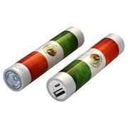 Mota® Tamo Super Lightweight Battery Stick with LED Flashlight, 2200 mAh, Mexico Flag (STIK22-MXCO)