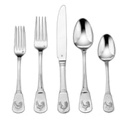 Cuisinart® CFE-01-FR20 French Rooster Stainless Steel Flatware Set