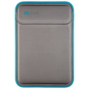 """Speck® 77500-5546 Flaptop Foam Sleeve for 15"""" Apple MacBook Pro with Retina Display, Graphite Gray/Electric Blue"""
