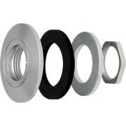 AXIS® F8212 Trim Ring for F1005-E/F1035-E Sensor Units and P1214-E/P1224-E Network Cameras, 10/Pack