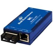 B&B 855-11624 MiniMc Single-Mode Fiber Switching Media Converter