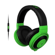 Razer™ RZ04-01400100-R3U1 Kraken Mobile Over-the-Head Binaural Headset for Apple iOS Devices, Wired, Neon Green
