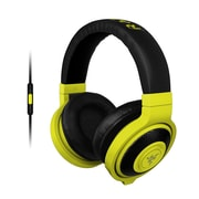Razer™ RZ04-01400200-R3U1 Kraken Mobile Over-the-Head Binaural Headset for Apple iOS Devices, Wired, Neon Yellow
