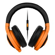 Razer™ RZ04-01400400-R3U1 Kraken Mobile Over-the-Head Binaural Headset for Apple iOS Devices, Wired, Neon Orange