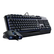 Cooler Master® Devastator II Optical Wired USB 2.0 Keyboard and Mouse, Black (SGB-3030-KKMF1-US)