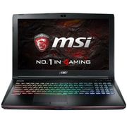 "msi® GE62VR Apache Pro-021 15.6"" Gaming Laptop, IPS, Intel i7-6700HQ, 1TB HDD/128GB SSD, 12GB RAM, WIN 10, Black"