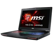 "msi® GT72VR Dominator-033 17.3"" Gaming Laptop, IPS, Intel i7-6700HQ, 1TB HDD/256GB SSD, 16GB RAM, WIN 10, Black"