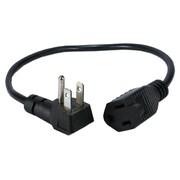 QVS® OutletSaver 1.33' AC Power Adapter, 6/Pack (PPRT-ADPT-6PK)