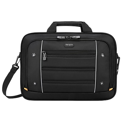 Targus TBT271 Drifter Top Load Case for 15.6 Laptop, Black/Gray