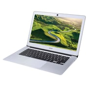 "Acer™ 14 CB3-431-C0D0 14"" Chromebook, LCD-LED, Intel Celeron® N3160, 16GB Flash, 4GB RAM, Chrome OS, Silver"