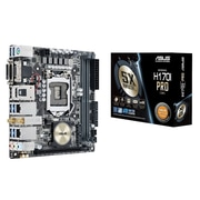 ASUS® Intel H170 Mini ITX Desktop Motherboard, 32GB (H170I-PRO/CSM)