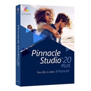 Corel® Pinnacle® Studio 20 Plus Video Editing Software, Windows, DVD (PNST20PLEFAM)