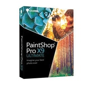 Corel® PaintShop® Pro X9 Ultimate Photo Editing Software, WIN 10/8/8.1/7, DVD (PSPX9ULENMBAM)