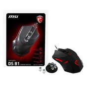 msi® Optical Wired Gaming Mouse, Black (INTERCEPTOR DS B1)