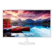 "Samsung LS32F351FUNXZA 32"" LED Monitor, Glossy White"
