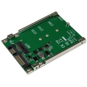 Addonics® M2 SATA 6 Gbps SSD Adapter, Green (ADM2SAHDD)