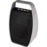 NXG® NX-WRLSM-GRAY Portable Wireless Speaker, Gray/Black