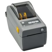 "Zebra® 300 dpi Monochrome Direct Thermal Label/Receipt Printer, 6"" x 4.5"" x 8.6"", Black/Gray (ZD41023-D01W01EZ)"
