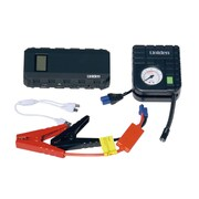 Uniden® UPP120BK Emergency Power Pack Jump Starter with Air Pump, 12000 mAh, Black