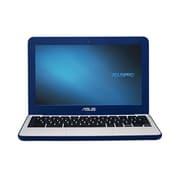 "ASUS® C202SA-YS01 11.6"" Chromebook, LCD-LED, Intel Celeron® N3060, 16GB Flash, 2GB RAM, Chrome OS, Dark Blue/Silver"