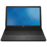 "Dell™ Inspiron 15 3558 15.6"" Laptop, Intel i3-5005U, 500GB HDD, 4GB RAM, Linux 14.04, Black"