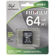 Fujifilm 600013604 High Performance Class 10/UHS-I 64GB SDHC Flash Memory Card