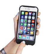 kid lid™ Dual Function Case for Apple iPhone 6/6s, Black (KLIP6BLK)