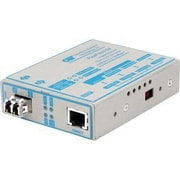 Omnitron® 4672-1 FlexPoint Gx LC Gigabit Ethernet Copper-to-Fiber Media Converter