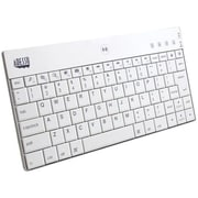 Adesso® Wireless Bluetooth Mini Keyboard, White (WKB-1000BW)