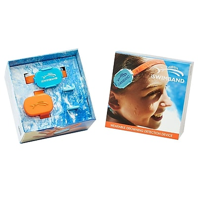 Aquatic 864507000051 Orange Blue Drowning Detection Device