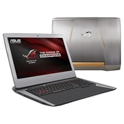 "ASUS® ROG G752VT-DH74 17.3"" Gaming Laptop, LCD-LED, Intel i7 6700HQ, 1TB HDD/256GB SSD, 24GB RAM, WIN 10, Gray"