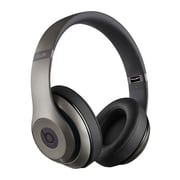 Beats by Dr. Dre MHAK2AM/B Wireless Over Ear Headphone with Mic, Titanium