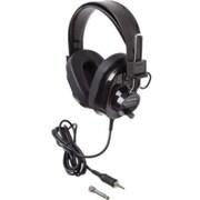 Ergoguys Califone® Deluxe 2924AVPS-BK Wired Stereo Headphones
