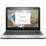 "HP® 11 G5 X9U01UT 11.6"" Chromebook, LCD-LED, Intel Celeron® N3050, 16GB Flash, 2GB RAM, Chrome OS, Black"