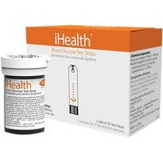 iHealth® Lab Test Strip for Glucose Meters, 50/Pack (AGS-10001)