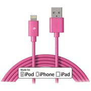 Press Play Pp1011/pnk Lightning® To USB Cable, 3.3ft/1m (pink)