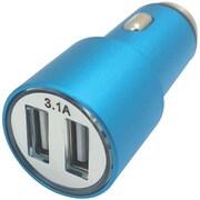 Xavier Car-USB2-bl 3.1-amp Dual Car Charger (blue)