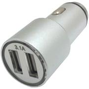 Xavier Car-USB2-sl 3.1-amp Dual Car Charger (silver)