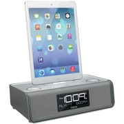 Ihome Idl43s Dual Alarm Clock Radio With Lightning® and USB Docks