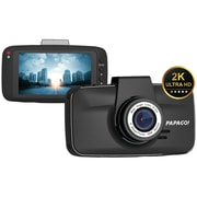 Papago Gs5208g GoSafe 520 Ultrawide HD 2k Resolution Dash Cam With 8GB MicroSD™ Card