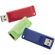 Verbatim 97002 4GB Store 'n' Go® USB Flash Drives, 3 Pk