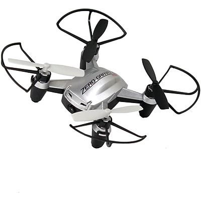 Digital Treasures 70355 Zero Gravity HD Drone (silver)