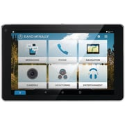 "Rand McNally 0528015990 Overdryve™  7"" Connected Car™  GPS Tablet With Dash Cam and Bluetooth®"